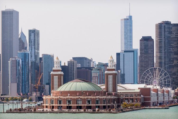 Navy-pier en Chicago