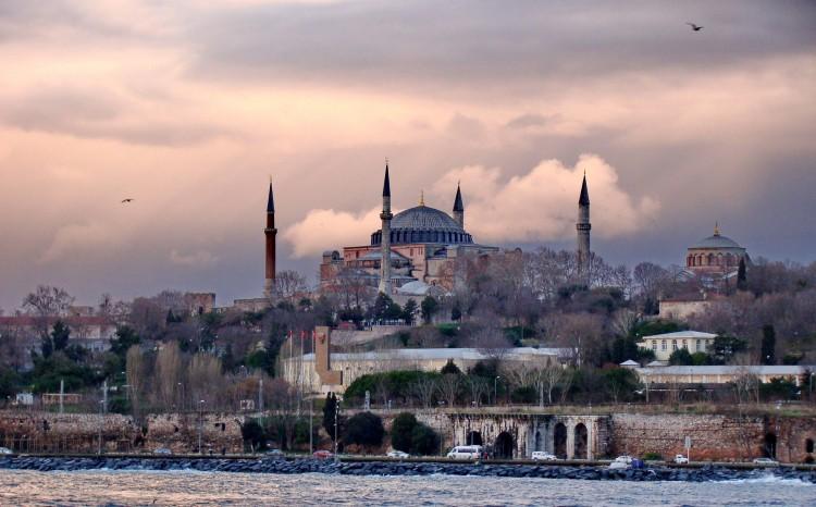 Estrecho del Bósforo en Turquía