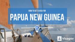 How to get a visa for Papua New Guinea